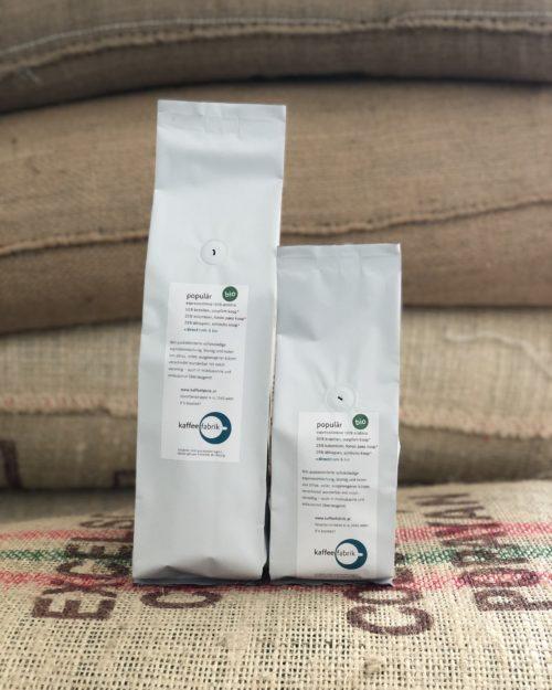 Bio Espresso  <br>Populär – Brasilien, Kolumbien & Äthiopien