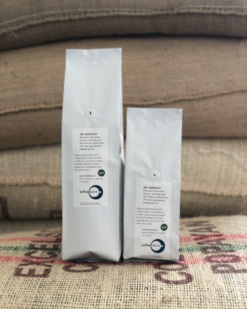 Bio Espresso<br>Der Seemann – Peru, Honduras & Indien <br>